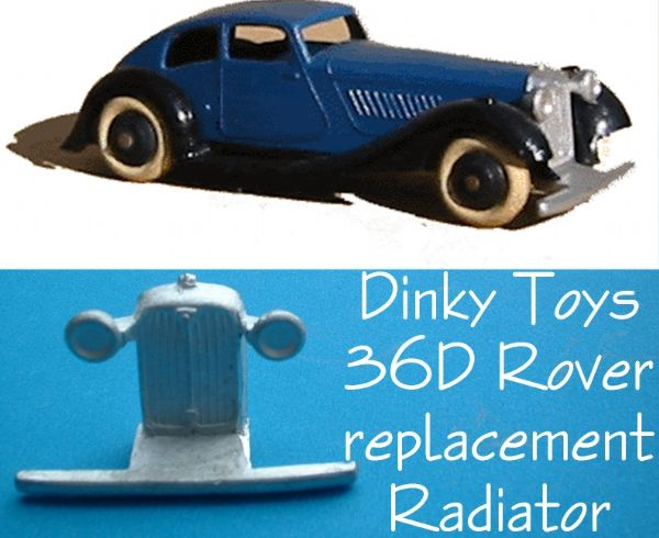 Dinky Toys 36D Rover Radiator Grille [ Each ]